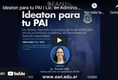 Mirá el Ideaton para tu PAI de la Lic. en Administración de Negocios en Internet