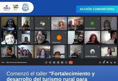"""Comenzó el taller """"Fortalecimiento y desarrollo del turismo rural para pueblos de Argentina"""""""