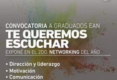 "Club de Graduados EAN: Convocatoria ""Te queremos escuchar"""