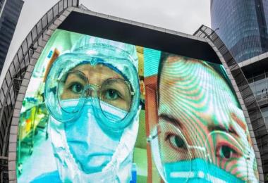 """Control ciudadano y """"big data"""", la fórmula de China contra el coronavirus"""