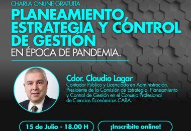 Planeamiento, estrategia y control de gestión en época de pandemia