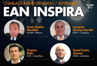 """En septiembre se realizará el ciclo de charlas internacionales """"EAN Inspira"""""""