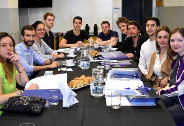 EAN recibe alumnos del ISG de Francia