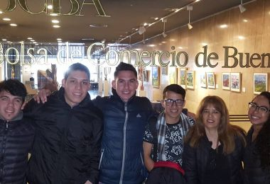 Alumnos de EAN visitaron la Bolsa de Comercio