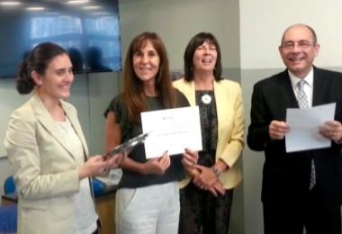 Ariana De Vincenzi y Andrea Garau galardonadas por su labor en EAN