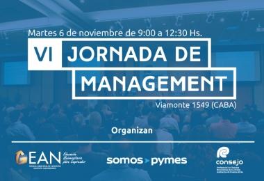 VI Jornada de Management