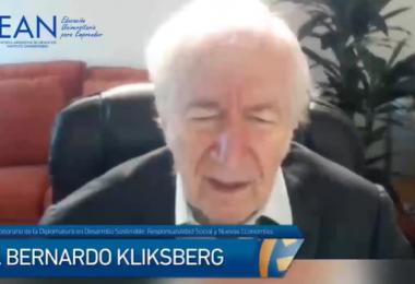 Bernardo Kliksberg fue designado Director Honorario de la Diplomatura en Desarrollo Sostenible