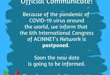 ACINNET 2020 quedó postergado para octubre de este año