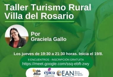 Taller Turismo Rural Villa del Rosario