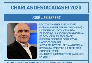 Jose Luis Espert confirmado para el II Encuentro Internacional EAN