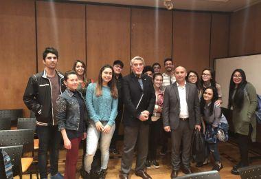 Estudiantes de EAN se capacitaron en geopolítica