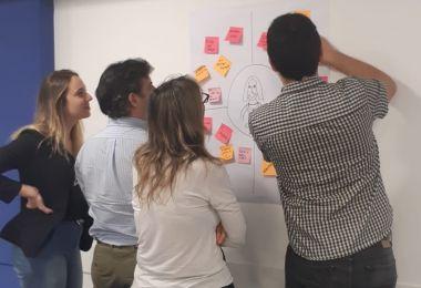 Alumnos de Tecnología Informática vivenciaron el Design Thinking de IBM
