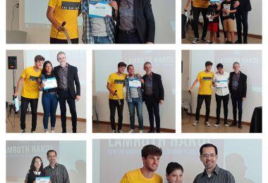 Entrega de certificados en la Fundación Lamroth Hakol