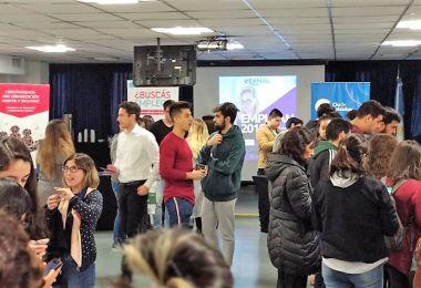 Más de 200 alumnos participaron de la feria Emplean 2019