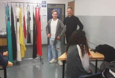 Se realizó el primer encuentro entre alumnos y Pymes