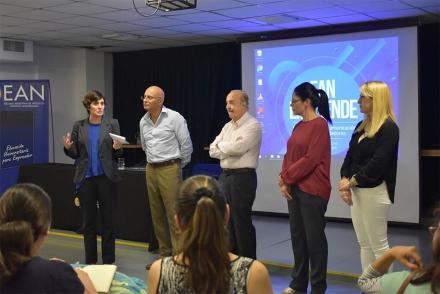 Carolina Szpak, Reinaldo Hernandez, Jorge Sardi, Graciela Gallo y Carolina Sinigalle.jpg