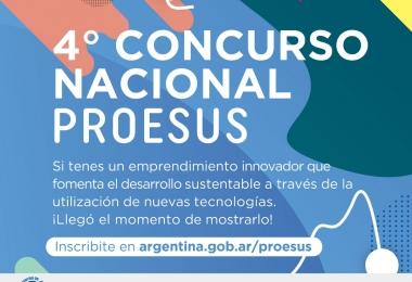 Hoy se lanzó el 4to Concurso Nacional PROESUS