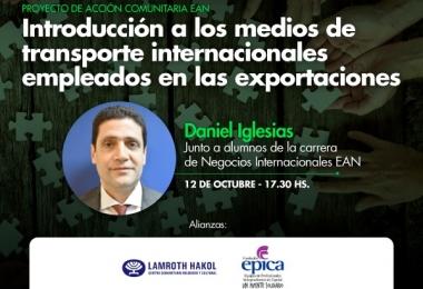 Introducción a los medios transporte internacionales empleados en las exportaciones