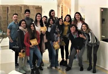 Los alumnos de Negocios Internacionales conocieron la planta Trinat Foods